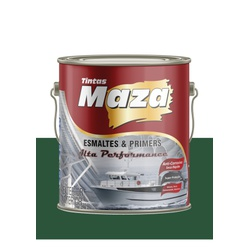 MAZA ESMALTE MARTELADO VERDE BRASIL 3,6L - Baratão das Tintas