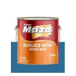 MAZA ACRÍLICO ULTRA AZUL PROFUNDO 3,6L - Baratão das Tintas