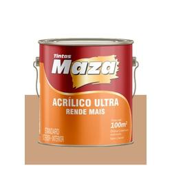 MAZA ACRÍLICO ULTRA CAMURÇA 3,6L - Baratão das Tintas