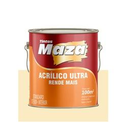 MAZA ACRÍLICO ULTRA PÉROLA 3,6L - Baratão das Tintas