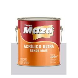 MAZA ACRÍLICO ULTRA PLATINA 3,6L - Baratão das Tintas