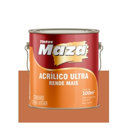 MAZA ACRÍLICO ULTRA TERRACOTA 3,6L - Baratão das Tintas
