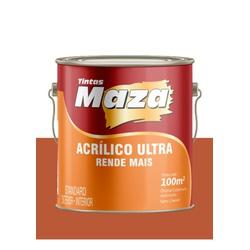 MAZA ACRÍLICO ULTRA TOMATE SECO 3,6L - Baratão das Tintas