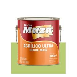 MAZA ACRÍLICO ULTRA VERDE VIDA 3,6L - Baratão das Tintas