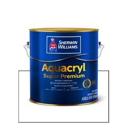 AQUACRYL ACRILICO FOSCO BRANCO SUPER PREMIUM 3,6L - Baratão das Tintas