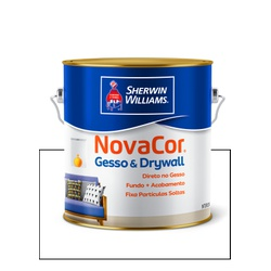 SHERWIN WILLIAMS NOVACOR GESSO E DRYWALL 3,6L - Baratão das Tintas