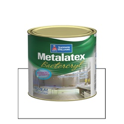 METALATEX BACTERCRYL BRANCO 900ML - Baratão das Tintas