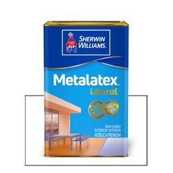 METALATEX LITORAL ACETINADO BRANCO 18L - Baratão das Tintas
