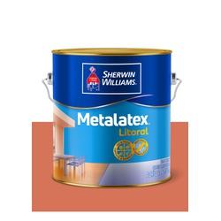 METALATEX LITORAL ACETINADO TERRACOTA 3,6L - Baratão das Tintas