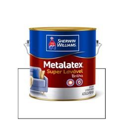METALATEX ACRÍLICO SEMIBRILHO BRANCO 3,6L - Baratão das Tintas