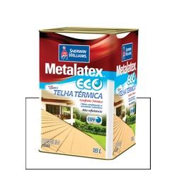 METALATEX RESINA ECO IMPERMEABILIZANTE BRANCO 18L - Baratão das Tintas