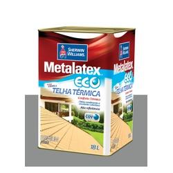 METALATEX RESINA ECO IMPERMEABILIZANTE CINZA 18L - Baratão das Tintas