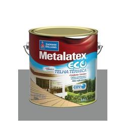 METALATEX RESINA ECO IMPERMEABILIZANTE CINZA 3,6L - Baratão das Tintas