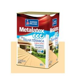 METALATEX RESINA ECO IMPERMEABILIZANTE PÉROLA 18L - Baratão das Tintas