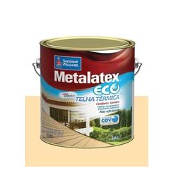 METALATEX RESINA ECO IMPERMEABILIZANTE PÉROLA 3,6L - Baratão das Tintas