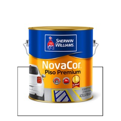 NOVACOR PISO MAIS RESISTENTE BRANCO 3,6L - Baratão das Tintas
