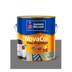 NOVACOR PISO MAIS RESISTENTE CINZA 3,6L - Baratão das Tintas
