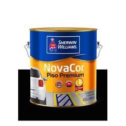NOVACOR PISO MAIS RESISTENTE PRETO 3,6L - Baratão das Tintas