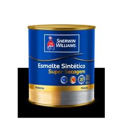 SHERWIN WILLIAMS ESMALTE SINTÉTICO SUPER SECAGEM P... - Baratão das Tintas