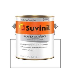 SUVINIL MASSA ACRÍLICA 5,7KG - Baratão das Tintas
