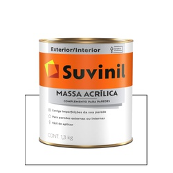 SUVINIL MASSA ACRÍLICA 1,4KG - Baratão das Tintas