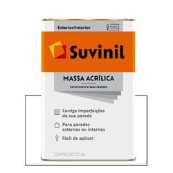 SUVINIL MASSA ACRÍLICA 28KG - Baratão das Tintas