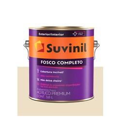 SUVINIL ACRILICO FOSCO COMPLETO AREIA 3,6L - Baratão das Tintas