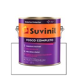 SUVINIL ACRILICO FOSCO COMPLETO BRANCO 3,6L - Baratão das Tintas
