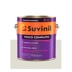 SUVINIL ACRILICO FOSCO COMPLETO GELO 3,6L - Baratão das Tintas
