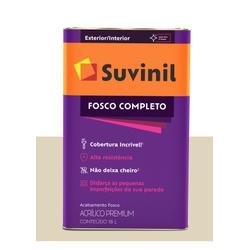 SUVINIL ACRILICO FOSCO COMPLETO PALHA 18L - Baratão das Tintas