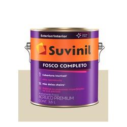 SUVINIL ACRILICO FOSCO COMPLETO PALHA 3,6L - Baratão das Tintas