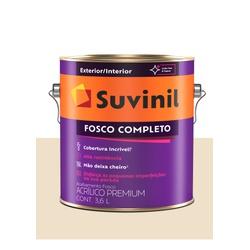 SUVINIL ACRILICO FOSCO COMPLETO PÉROLA 3,6L - Baratão das Tintas