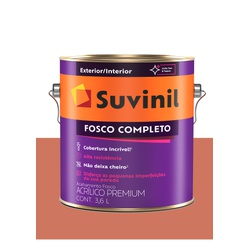 SUVINIL ACRILICO FOSCO COMPLETO TÂMARA 3,6L - Baratão das Tintas