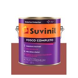 SUVINIL ACRILICO FOSCO COMPLETO TOMATE SECO 3,6L - Baratão das Tintas