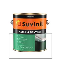 SUVINIL NOVO FUNDO GESSO DRYWALL 3,6L - Baratão das Tintas
