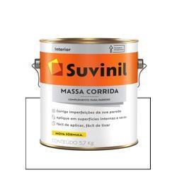 SUVINIL MASSA CORRIDA 5,7KG - Baratão das Tintas