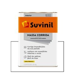 SUVINIL NOVA MASSA CORRIDA 25KG - Baratão das Tintas