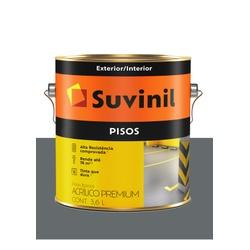 SUVINIL PISO CINZA ESCURO 3,6L - Baratão das Tintas