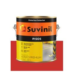 SUVINIL PISO VERMELHO 3,6L - Baratão das Tintas