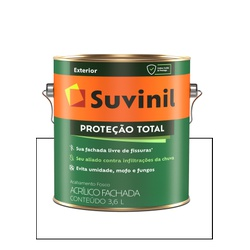 SUVINIL PROTEÇÃO TOTAL BRANCO 3,6L - Baratão das Tintas