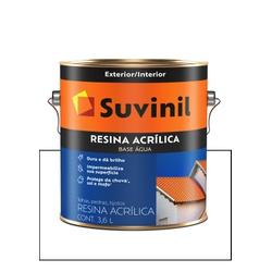 SUVINIL RESINA ACRÍLICA BASE ÁGUA INCOLOR 3,6L - Baratão das Tintas