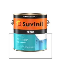 SUVINIL ACRÍLICO TETOS BRANCO NEVE 3,6L - Baratão das Tintas