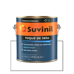 SUVINIL TOQUE DE SEDA BRANCO NEVE 3,6L - Baratão das Tintas