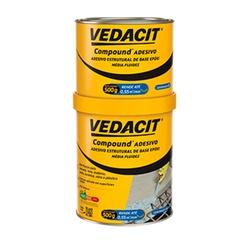 COMPOUND ADESIVO VEDACIT 1KG - Baratão das Tintas