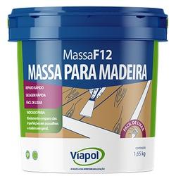 VIAPOL MASSA F12 CUMARU 1,65KG - Baratão das Tintas