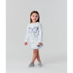 Conjunto Menina Petit Cherie Blusa Saia Borboleta ... - BARRADESAIA