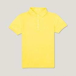 Camisa Polo Amarelo Algodão - 790001905 - Basilio Since 1966