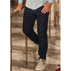 Calça Jeans Masculina Slim Comfort Azul Escuro - 7... - Basilio Brazilian Wear