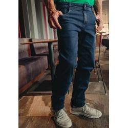 Calça Jeans Masculina Slim Comfort Azul Médio - 79... - Basilio Brazilian Wear
