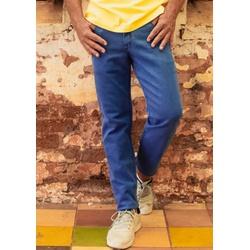 Calça Jeans Masculina Slim Comfort Azul Claro - 79... - Basilio Brazilian Wear
